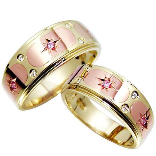 CF12919 레드스타 Yellow & Pink Gold