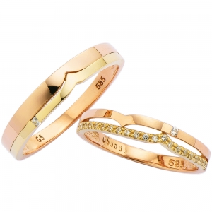 CS55909 모델 Pink Gold & Yellow