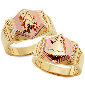 CL85231 아르비 Yellow & Pink Gold