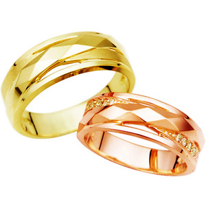 CF06722 패션『메움』Yellow & Pink Gold