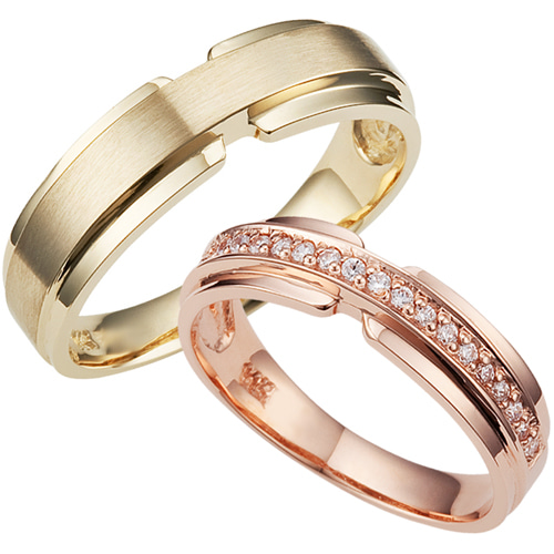 CS41715 에테르넬 Yellow & Pink Gold